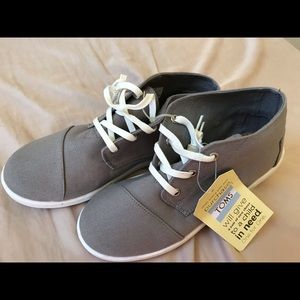 NWT Ankle high Medium grey Sneakers